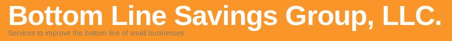 Logo Bottom Line Savings Group