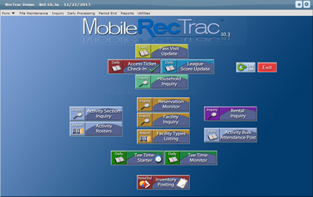 Mobile Rectrac Staff Access From A Mobile Or Full
