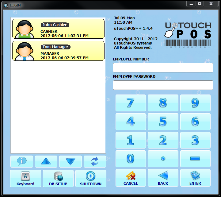 Utouchpos Point Of Sale Software Retail Posadvice Com