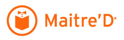 Logo Maitre'D Posera